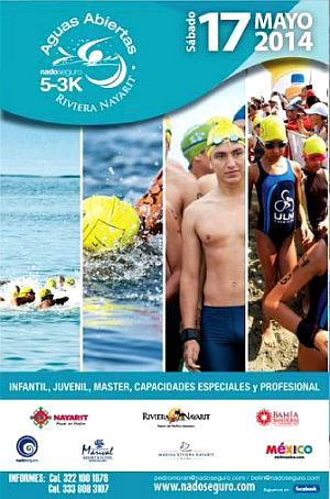 La Cruz de Huanacaxtle 4th Annual Swimming Competition in Mexico