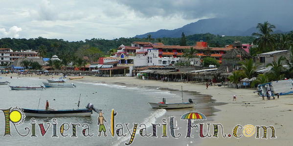 Guayabitos Beach